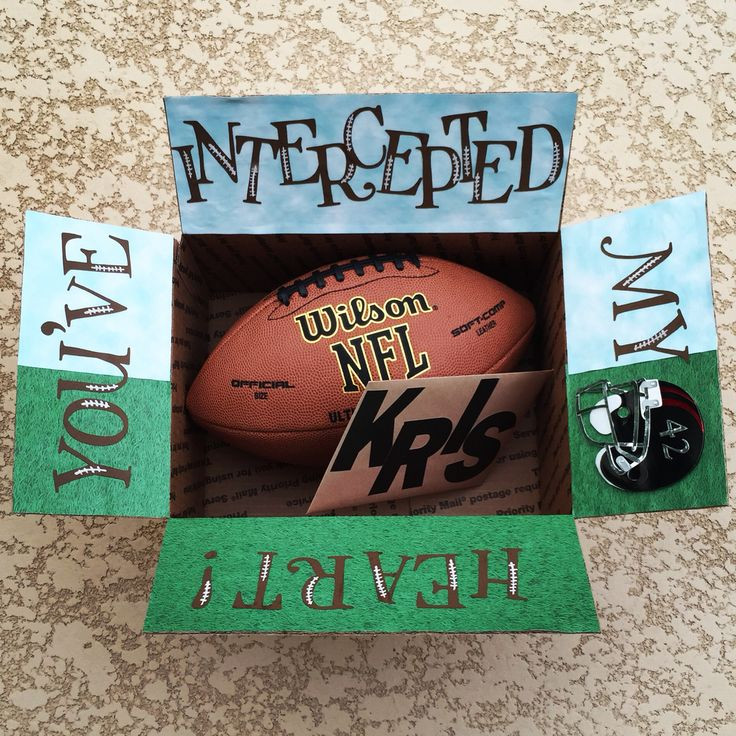 Football Gift Ideas For Boyfriend  Best 25 Football care package ideas on Pinterest