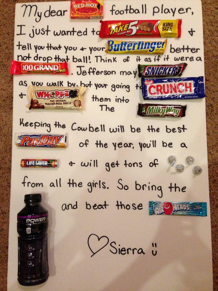 Football Gift Ideas For Boyfriend  Best 25 Football relationship ideas on Pinterest