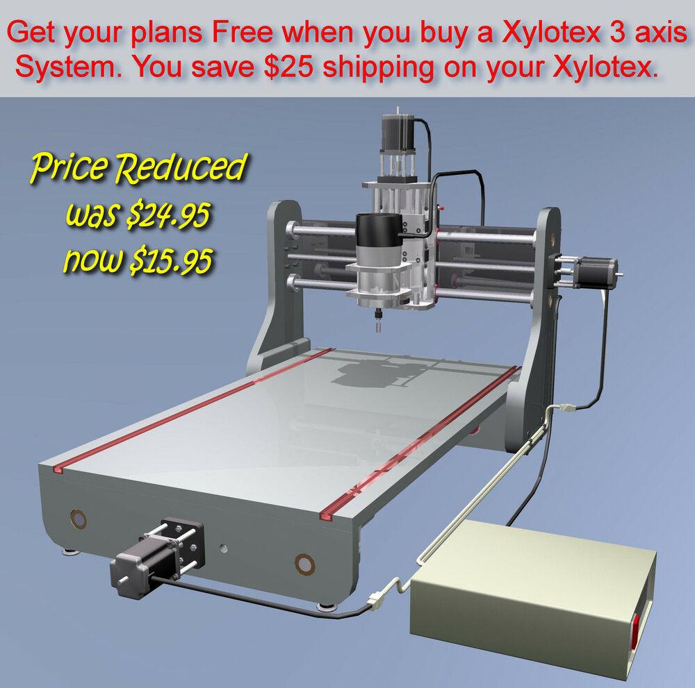 Free DIY Cnc Router Plans  CNC Router Engraver Design Package easy DIY plans