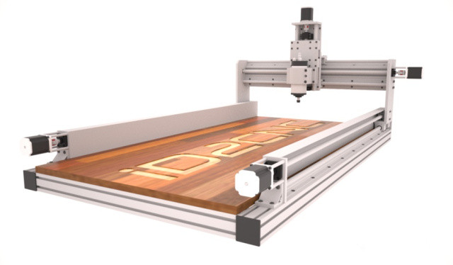 Free DIY Cnc Router Plans  [Scratch build] Low Cost CNC Working area