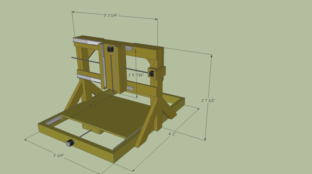 Free DIY Cnc Router Plans  DIY CNC Router Plans How to Build 5 Steps