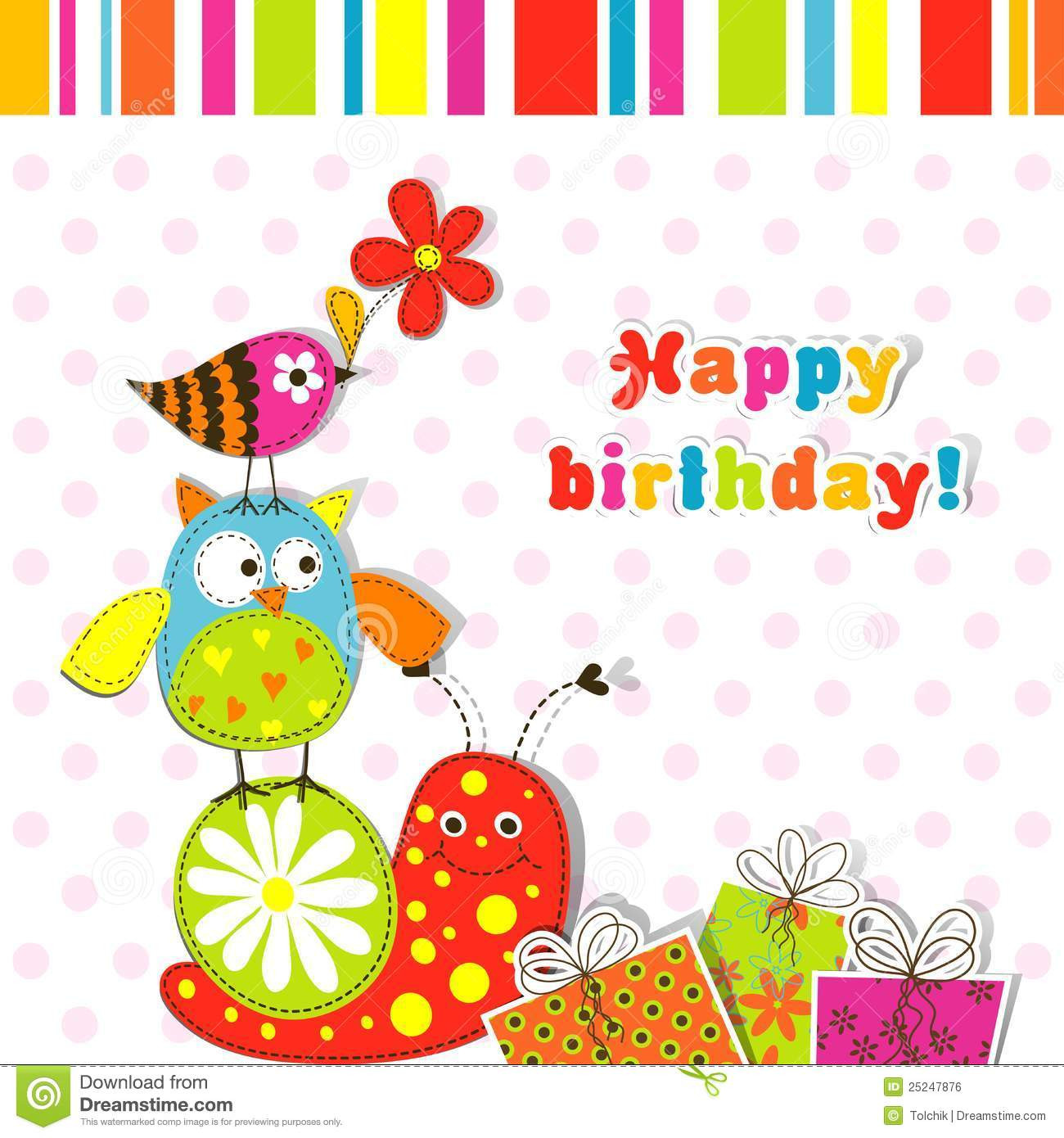 Free Download Birthday Card  Birthday Card Template