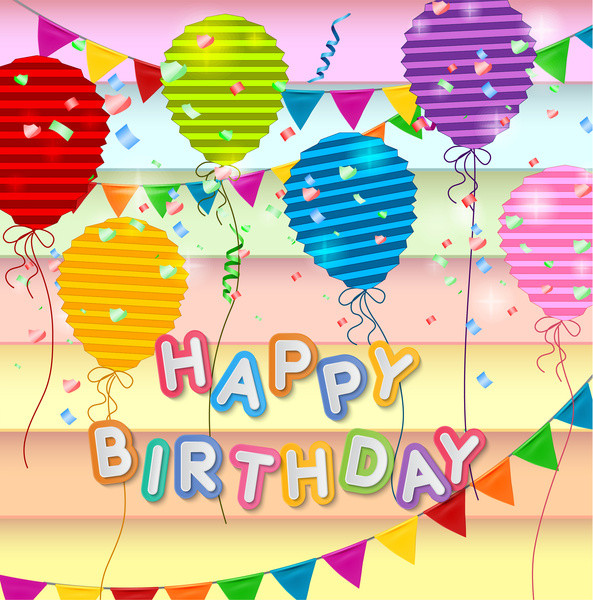 Free Download Birthday Card  3d free happy birthday card free vector