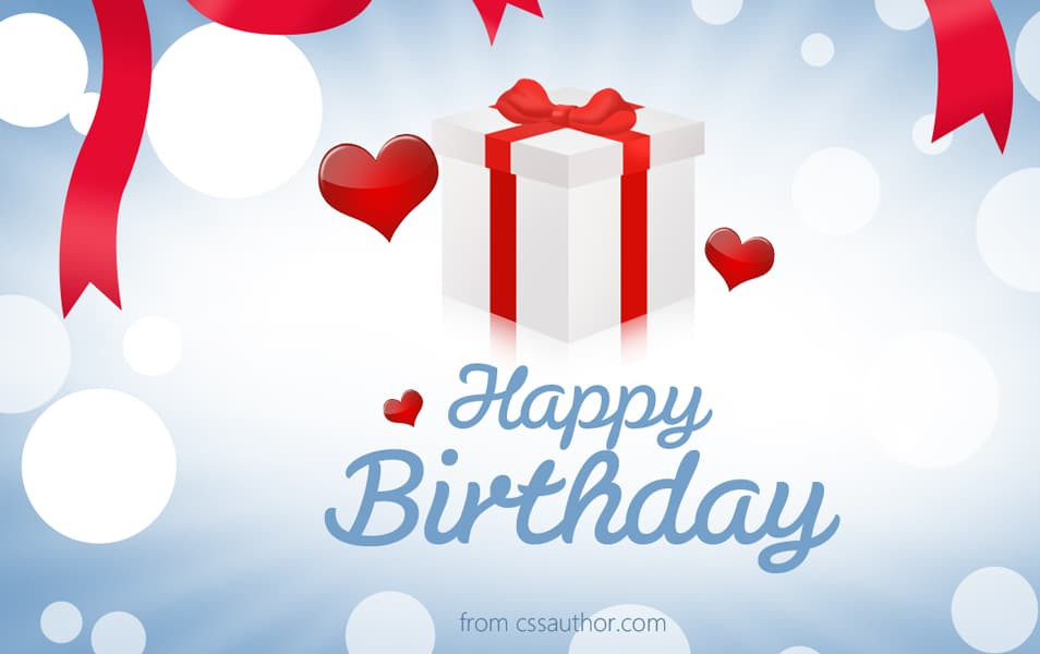 Free Download Birthday Card  Beautiful Birthday greetings card PSD for Free Download