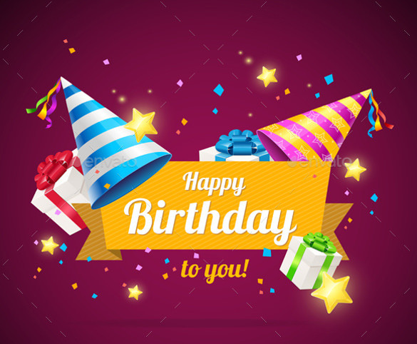 Free Download Birthday Card  21 Birthday Card Templates – Free Sample Example Format
