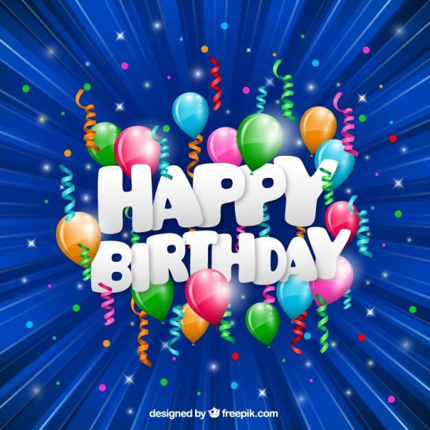 Free Download Birthday Card  Funny happy birthday card Vector