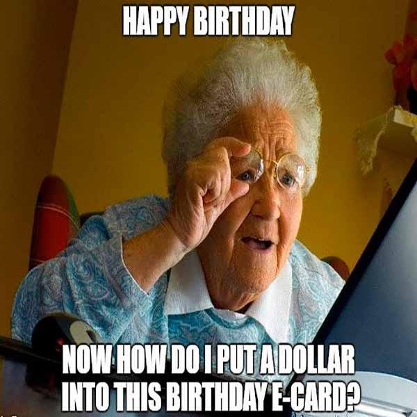Free Happy Birthday Images Funny  Happy Birthday Meme Wishes Happy Hirthday GIF