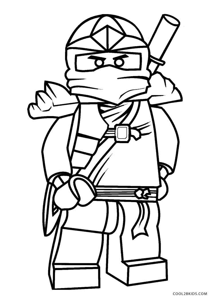 Free Online Coloring Pages  Free Printable Ninjago Coloring Pages For Kids