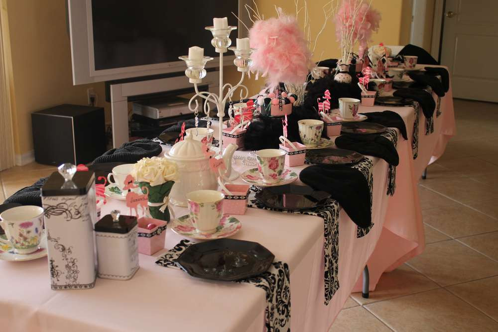 French Tea Party Ideas  Paris Style Tea Party Tea Party Party Ideas