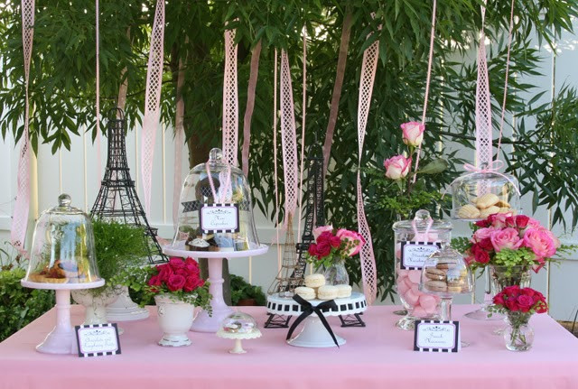 French Tea Party Ideas  French Tea Party