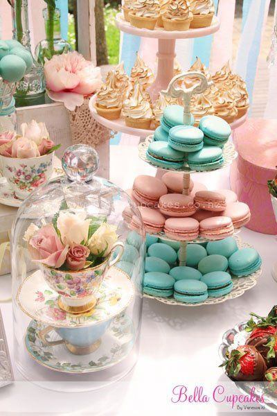 French Tea Party Ideas  10 Amazing Ways to Display Flowers