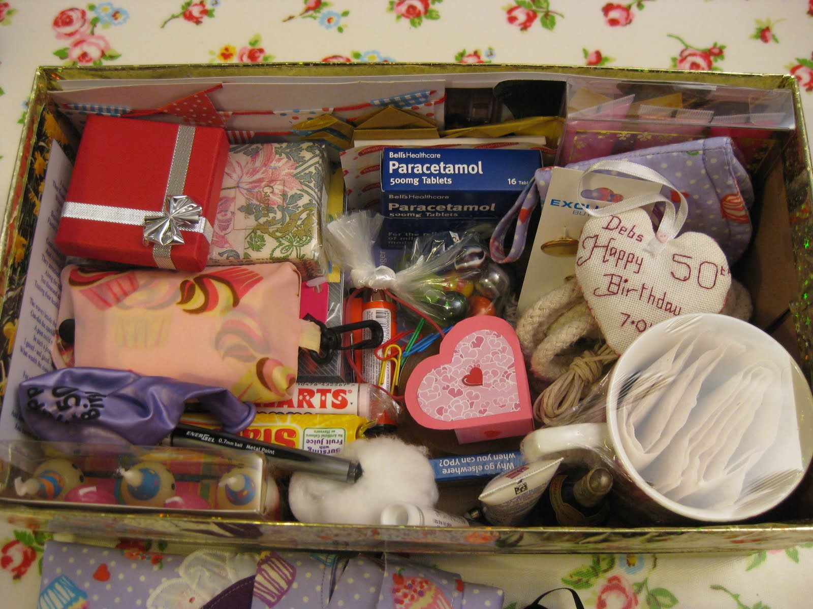 Friend 50Th Birthday Gift Ideas  Crafty Conundrum 50 Small Things for a Special Friends