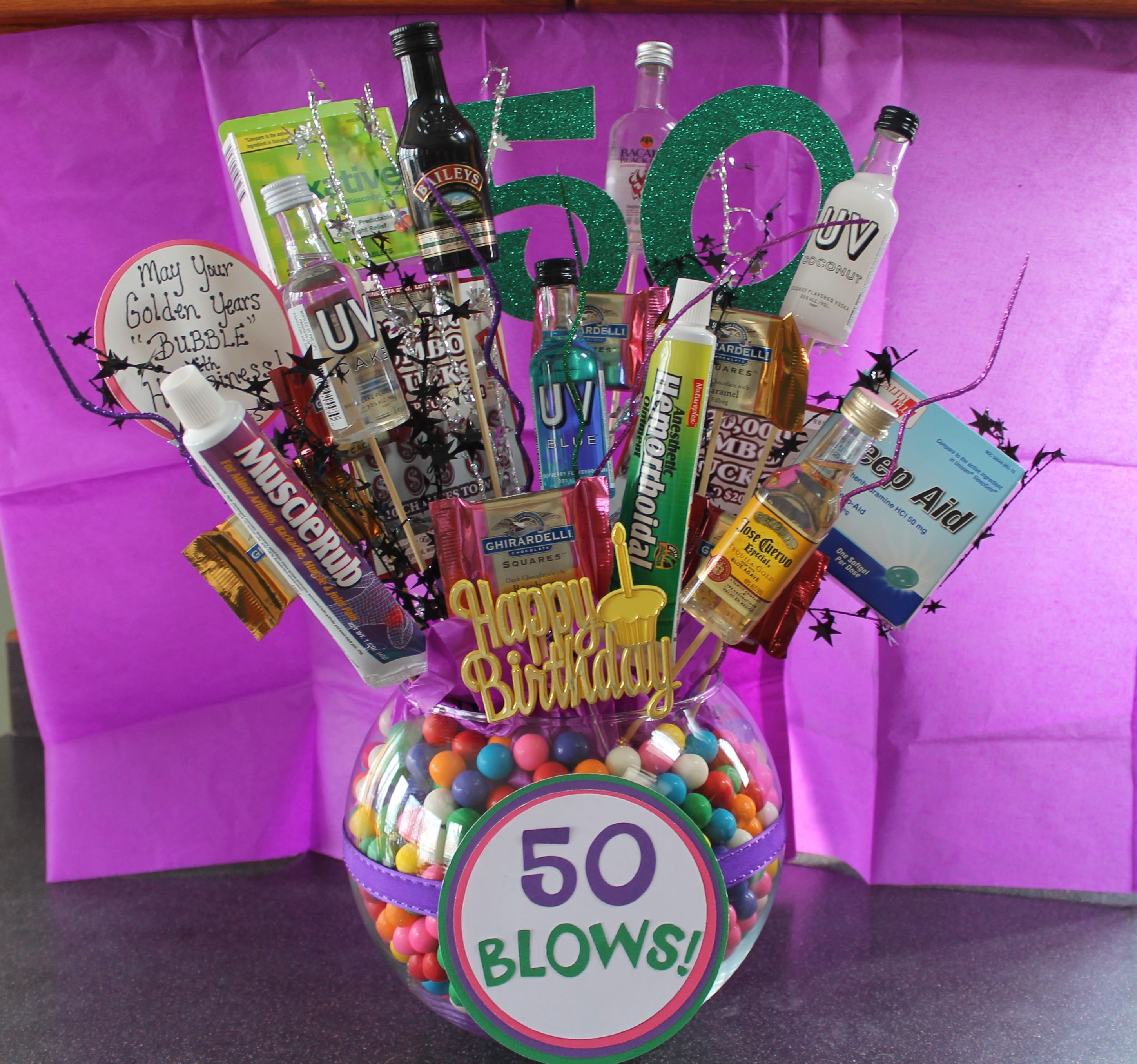 Friend 50Th Birthday Gift Ideas  DIY Crafty Projects 50th Birthday Gift Ideas DIY