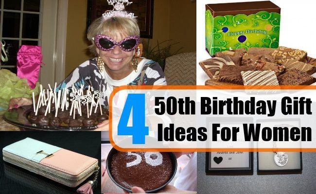 Friend 50Th Birthday Gift Ideas  Four 50th Birthday Gift Ideas For Women