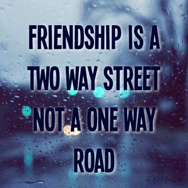 Friendship Pics With Quotes  Quotes Sayings & Funny Friendship is a two