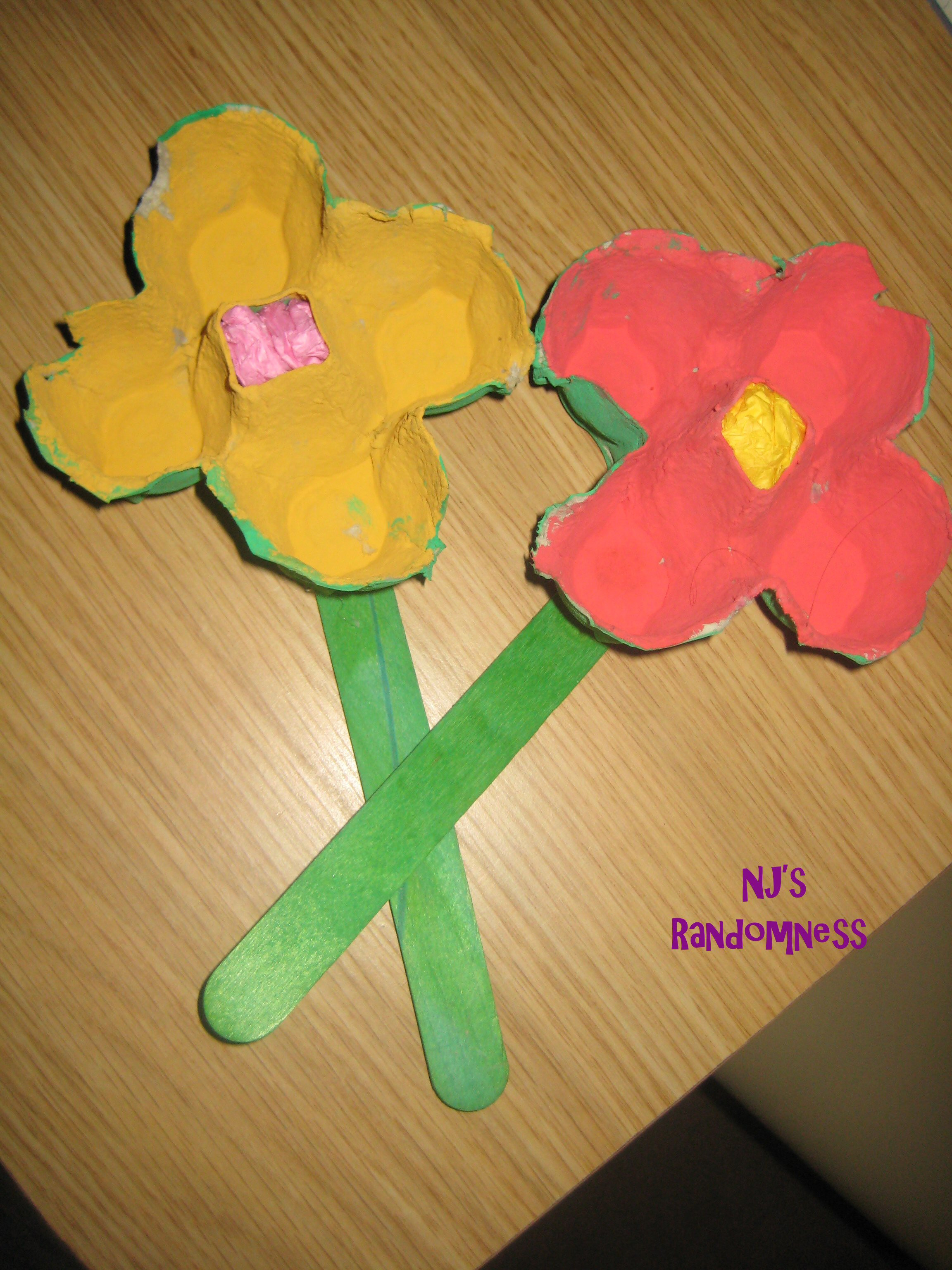 Fun Craft For Preschoolers  Egg Carton Flowers