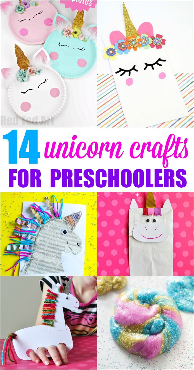 Fun Craft For Preschoolers  Unicorn Crafts for Preschoolers Mess for Less