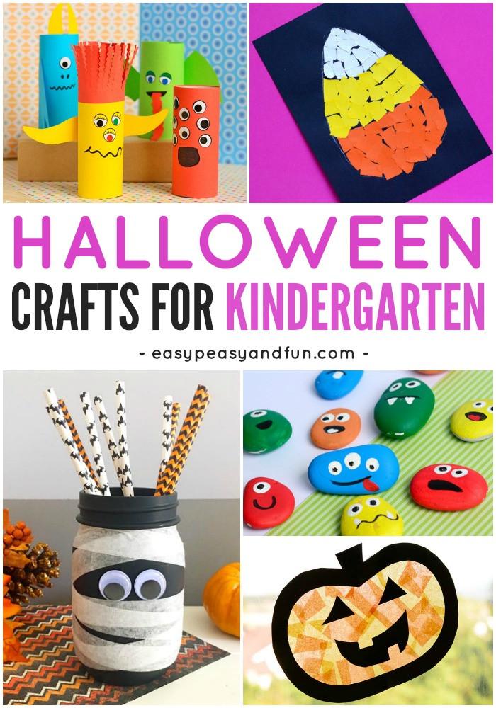 Fun Craft For Preschoolers  Halloween Crafts for Kindergarten Easy Peasy and Fun