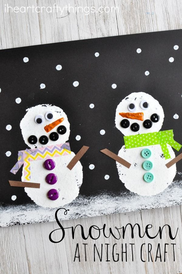 Fun Craft For Preschoolers  141 best Snowman Crafts and Activities images on Pinterest