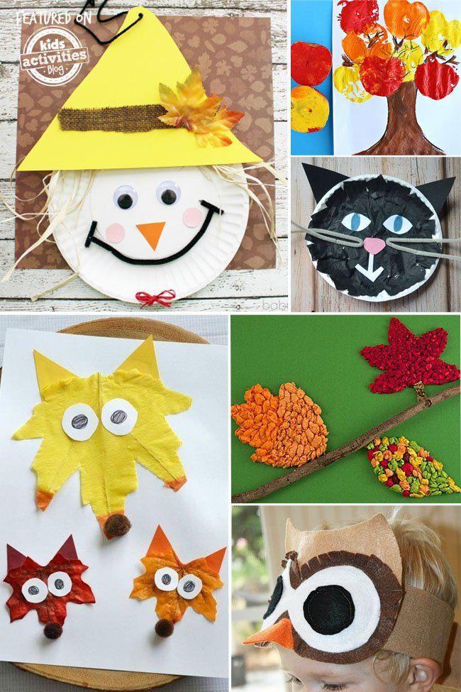 Fun Craft For Preschoolers  24 Super Fun Preschool Fall Crafts