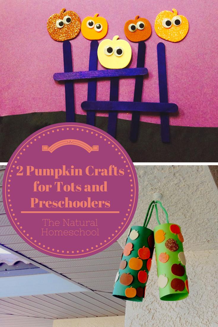 Fun Craft For Preschoolers  2 Fun Pumpkin Crafts for Tots and Preschoolers The