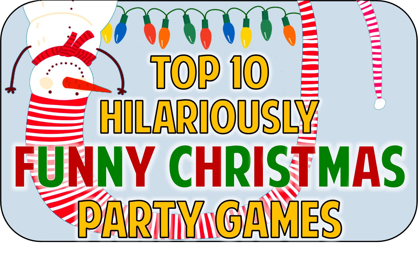 Fun Work Christmas Party Ideas  Christmas Party fice Games