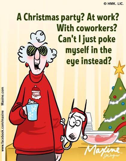 Fun Work Christmas Party Ideas  A Christmas Party Maxine & Auntie Pinterest