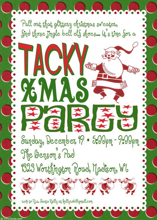 Fun Work Christmas Party Ideas  Holiday Party Tacky Christmas Party Ideas