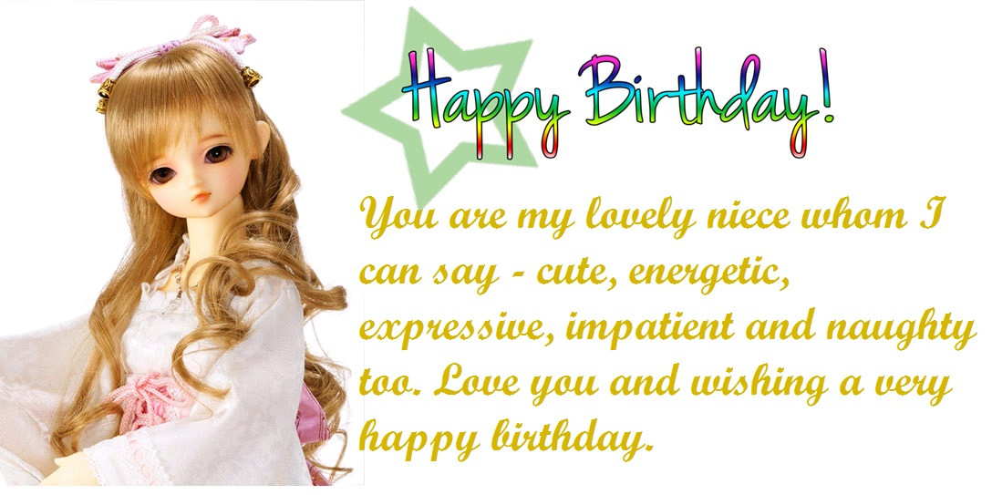 Funny Niece Birthday  50 Niece Birthday Quotes and