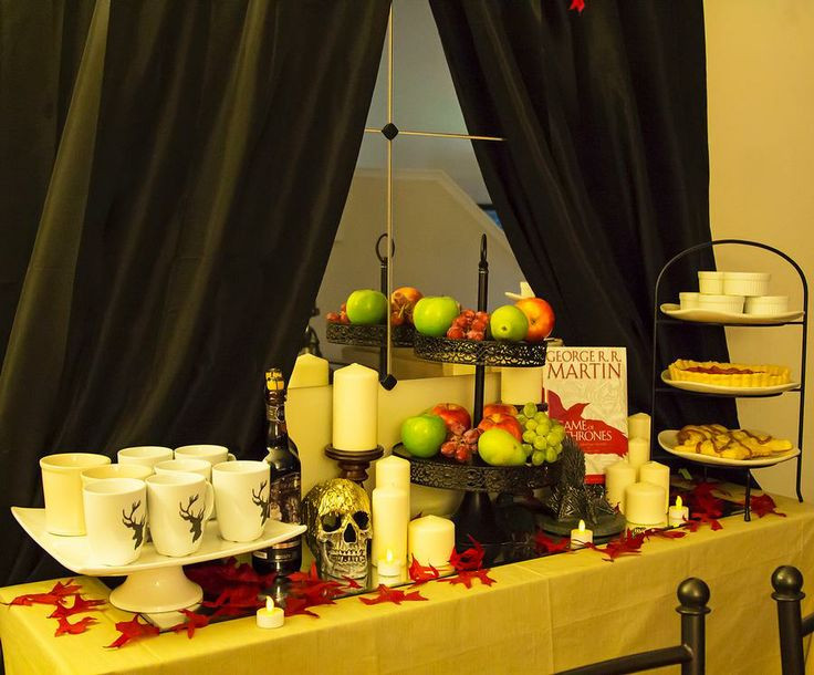 Game Of Thrones Dinner Party Ideas  17 Best images about Game of thrones party on Pinterest