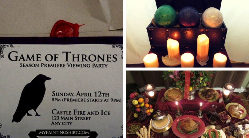 Game Of Thrones Dinner Party Ideas  Game of Thrones Dinner Party Party Ideas