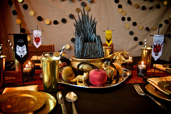 Game Of Thrones Dinner Party Ideas  Game of Thrones Party A Tourney of Crafts • Vix Venture