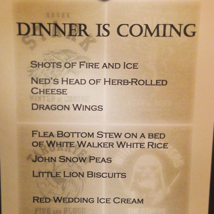 Game Of Thrones Dinner Party Ideas  197 best images about Game of Thrones Party Ideas on Pinterest