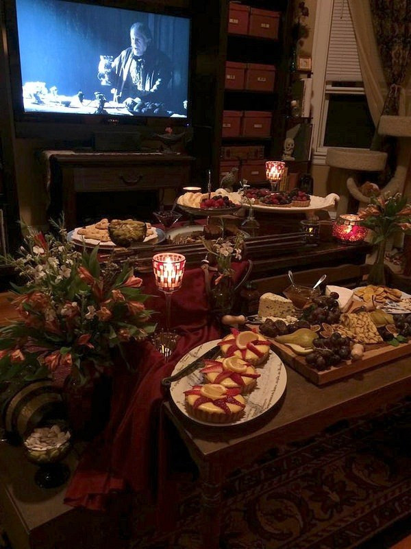 Game Of Thrones Dinner Party Ideas  This Game of Thrones party snack spread should win the