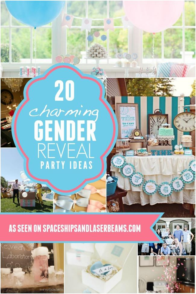 Gender Reveal Party Ideas  A Book Themed Gender Reveal Party Spaceships and Laser Beams