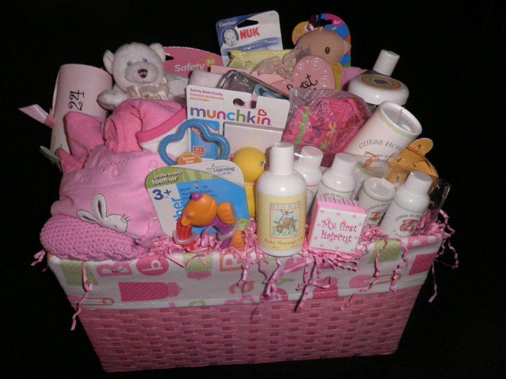 Gift Basket Ideas For Baby Shower  Homemade Baby Shower Gift Baskets Ideas Baby Wall