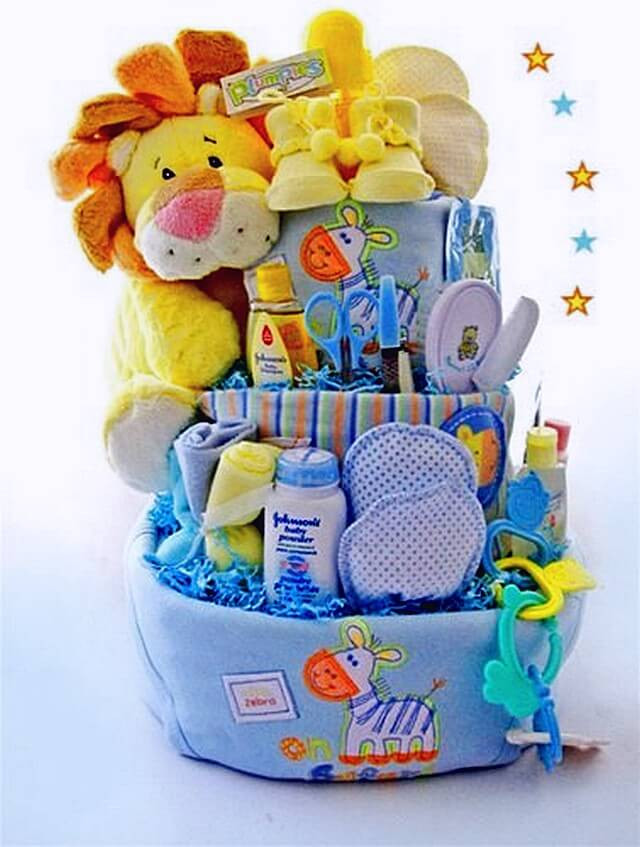 Gift Basket Ideas For Baby Shower  Ideas to Make Baby Shower Gift Basket