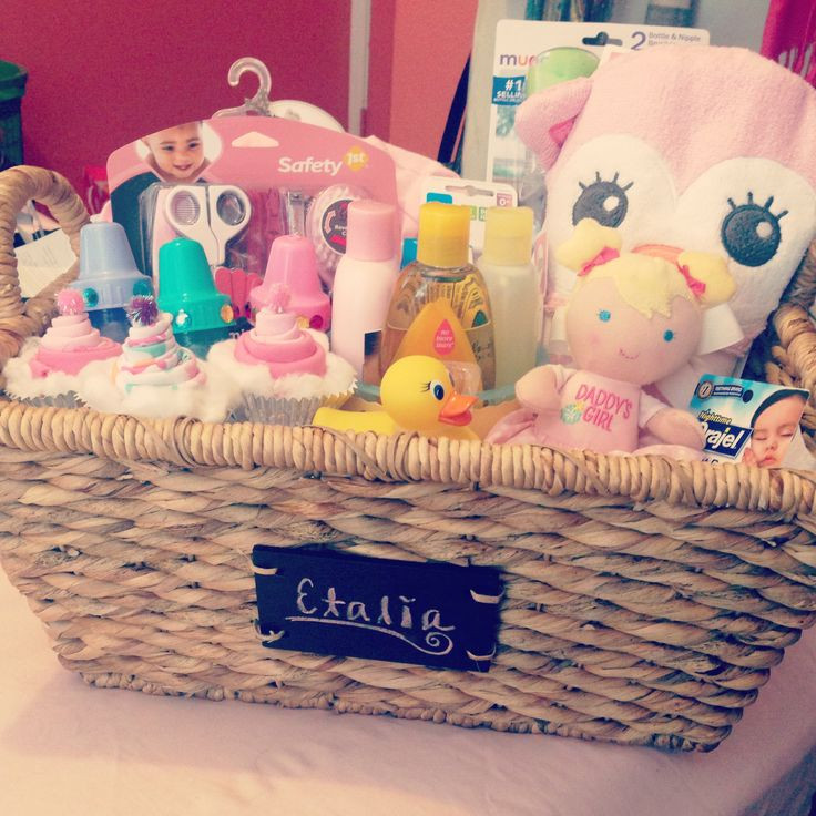 Gift Basket Ideas For Baby Shower  25 unique Baby baskets ideas on Pinterest