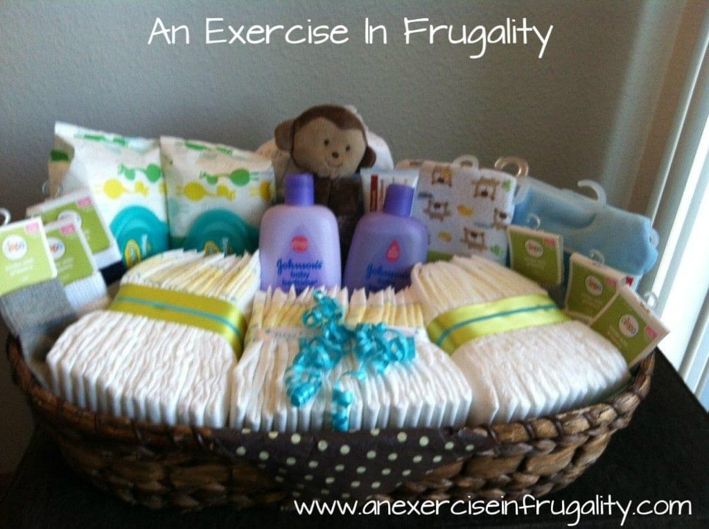 Gift Basket Ideas For Baby Shower  Baby Shower Basket Gift Idea