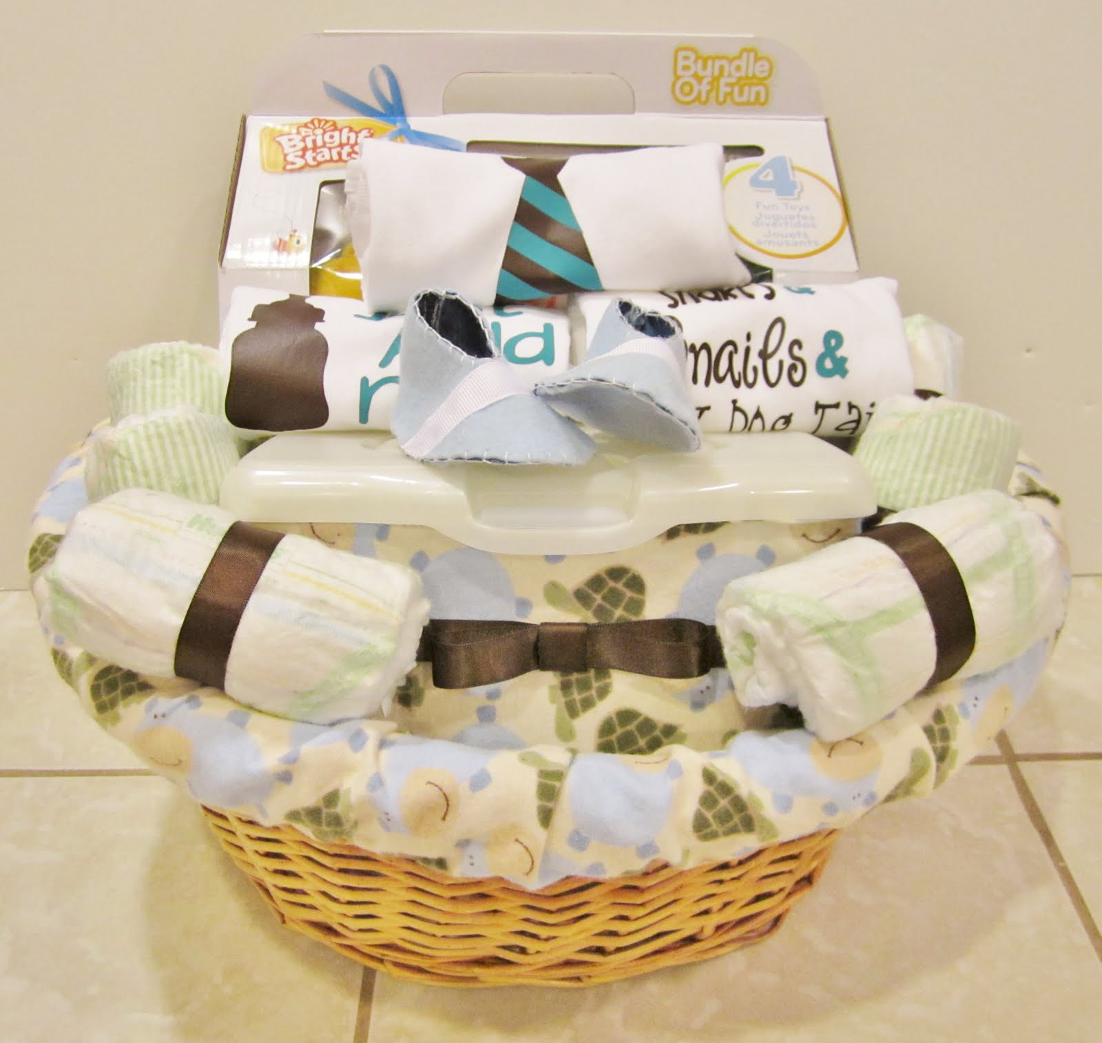 Gift Basket Ideas For Baby Shower  Life in the Motherhood Baby Shower Gift Basket For a