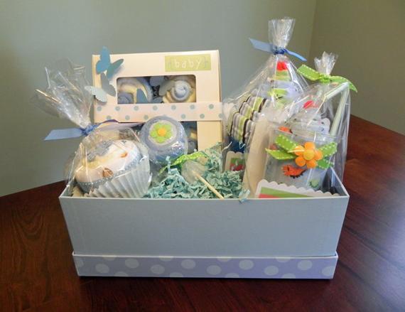 Gift Basket Ideas For Baby Shower  BabyBinkz Gift Basket Unique Baby Shower Gift or Centerpiece