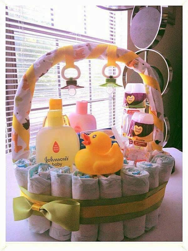 Gift Basket Ideas For Baby Shower  90 Lovely DIY Baby Shower Baskets for Presenting Homemade