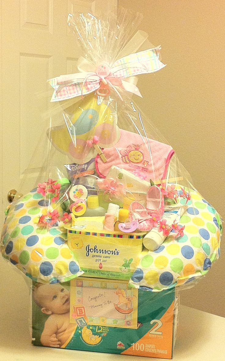 Gift Basket Ideas For Baby Shower  219 best images about DIY Baby Gift Ideas