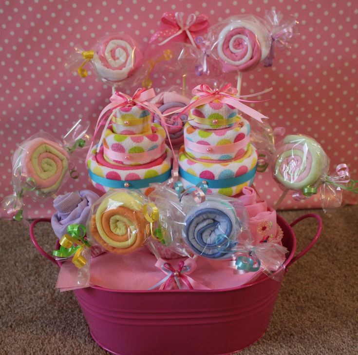 Gift Basket Ideas For Baby Shower  695 best images about Baby Shower Gifts Ideas on Pinterest