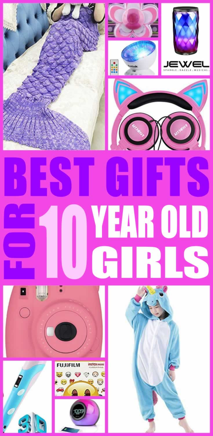Gift Ideas For 10 Year Old Girls  Best Gifts For 10 Year Old Girls