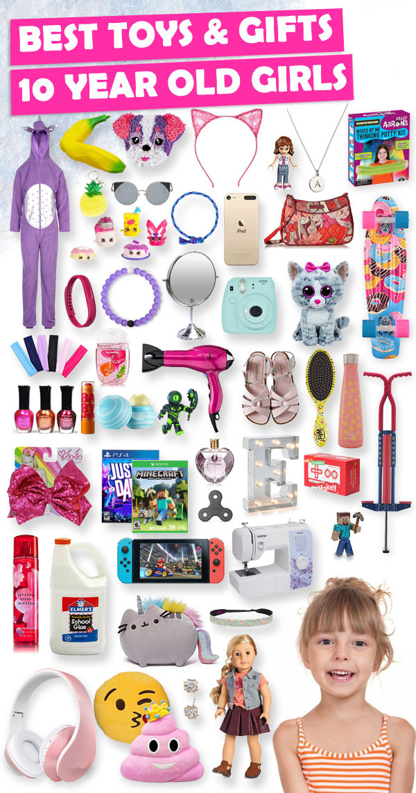 Gift Ideas For 10 Year Old Girls  Best Gifts For 10 Year Old Girls 2018