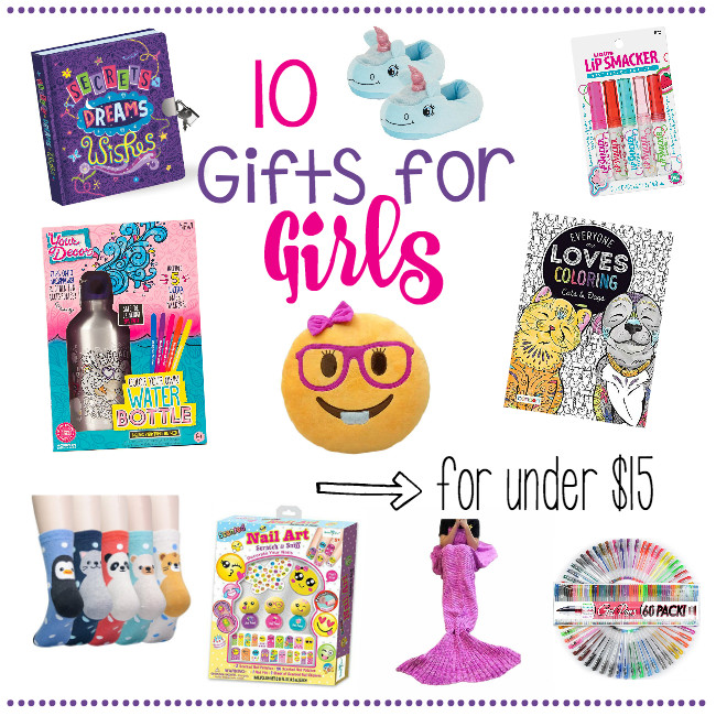 Gift Ideas For 10 Year Old Girls  10 Gifts for Girls for Under $15 – Fun Squared