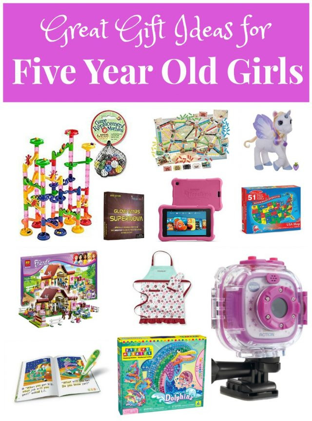 Gift Ideas For 11 Year Old Girls  Great Gifts for Five Year Old Girls