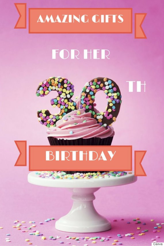 Gift Ideas For 30Th Birthday Woman  30th Birthday Gifts 30 Ideas The Woman In Your Life Will Love