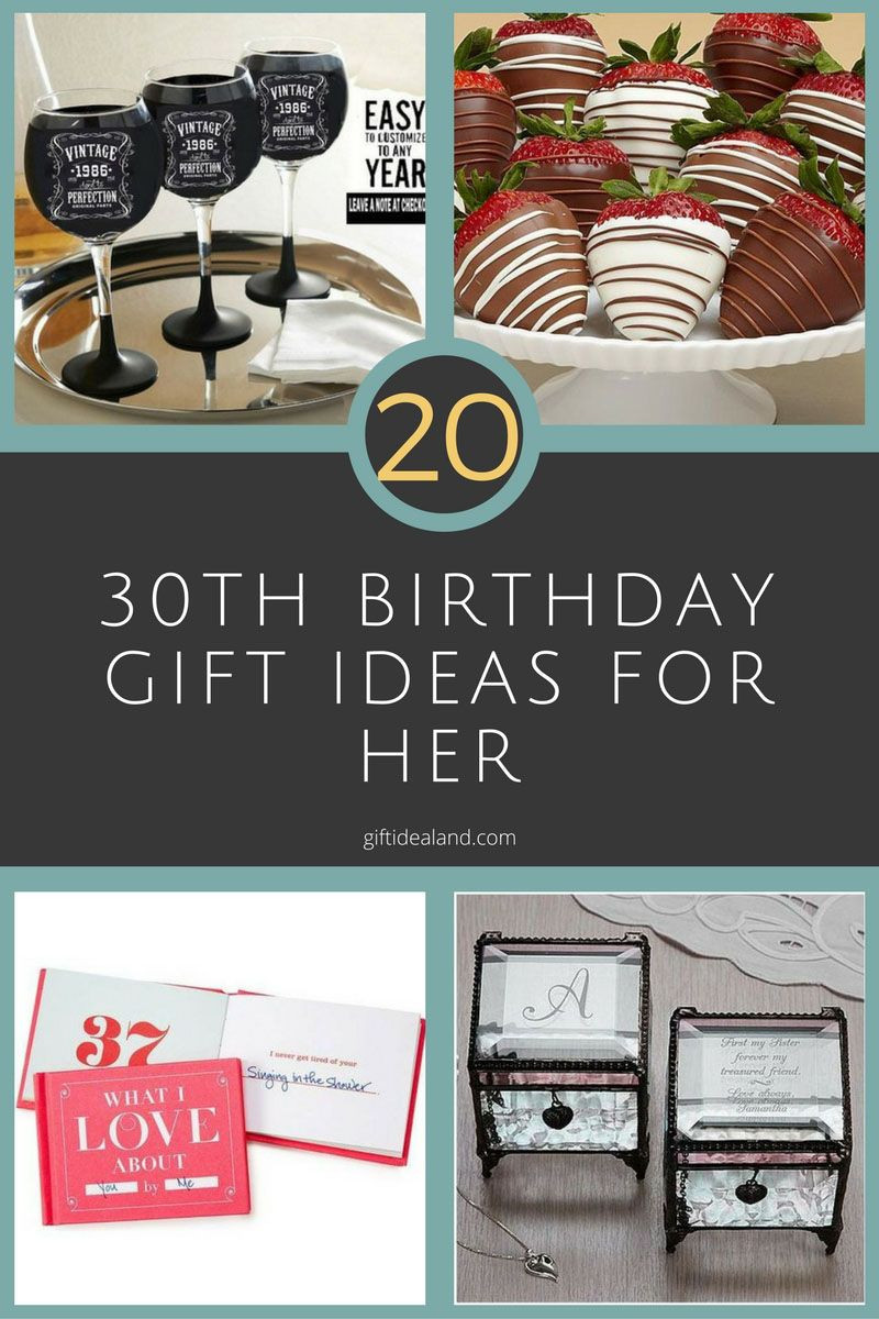 Gift Ideas For 30Th Birthday Woman  20 Good 30th Birthday Gift Ideas For Women